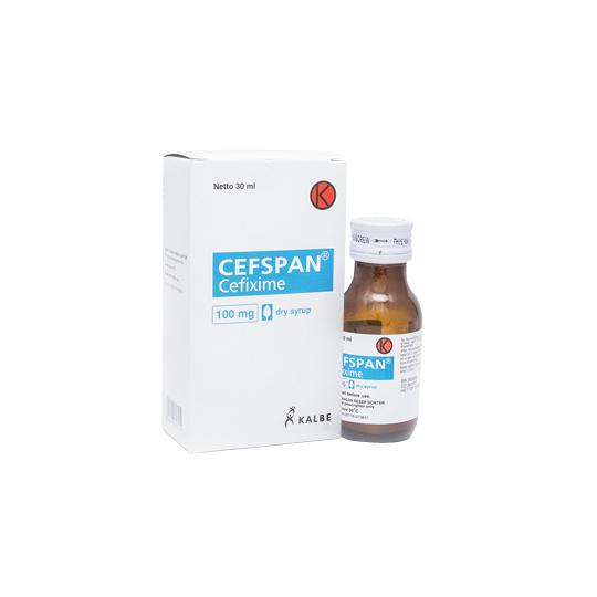 CEFSPAN SIRUP 30 ML