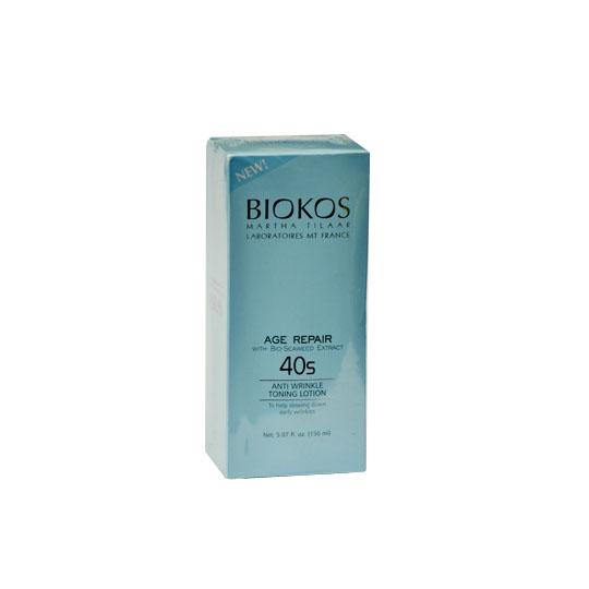BIOKOS AGE REPAIR ANTI WRINKLE TONING LOTION 40S