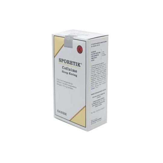 SPORETIC SIRUP 30 ML