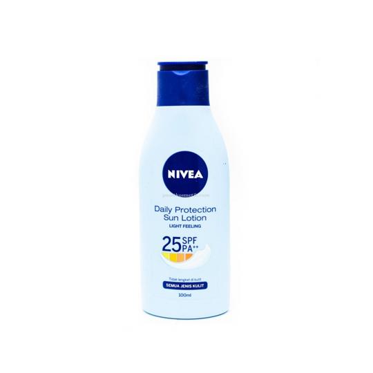 NIVEA HAND BODY LOTION SUN PROTECTION SPF 25 100ML