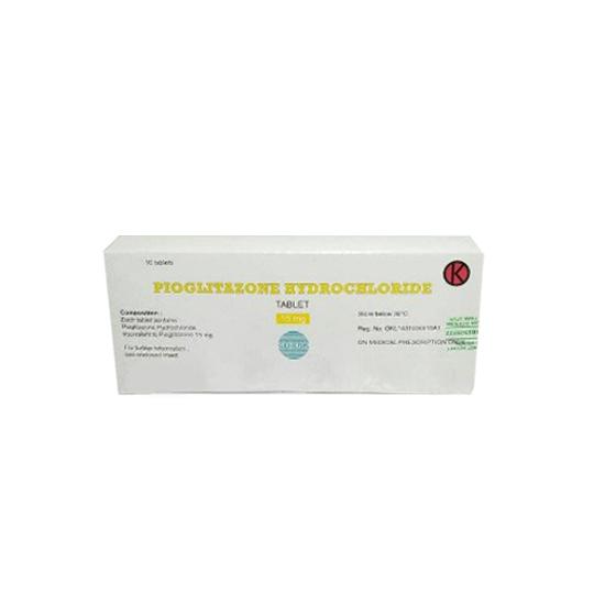 PIOGLITAZONE HCL 15 MG 10 TABLET