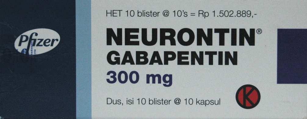 NEURONTIN 300 MG 10 KAPSUL