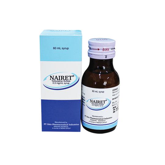 NAIRET SIRUP 60 ML