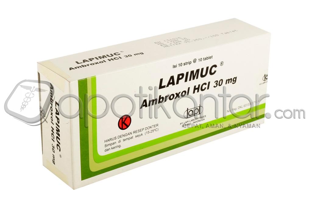 LAPIMUC 30 MG 10 TABLET