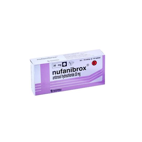 NUFANIBROX 30 MG 10 TABLET
