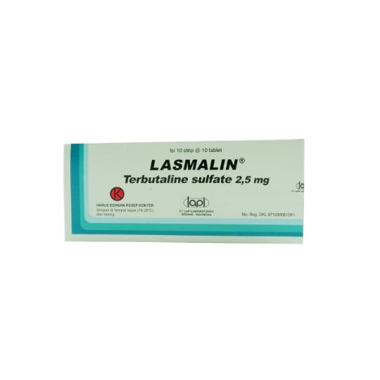 LASMALIN 2.5 MG 10 TABLET