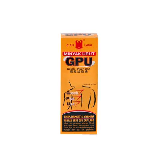 CAP LANG MINYAK URUT GPU 100 ML