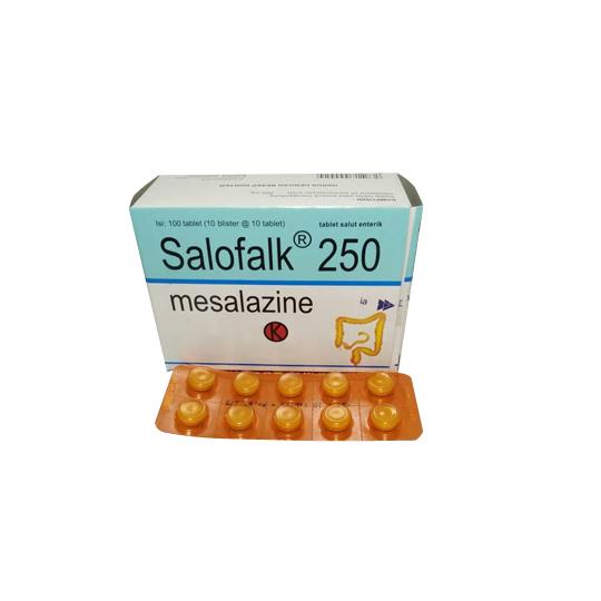 SALOFALK 250 MG 10 TABLET
