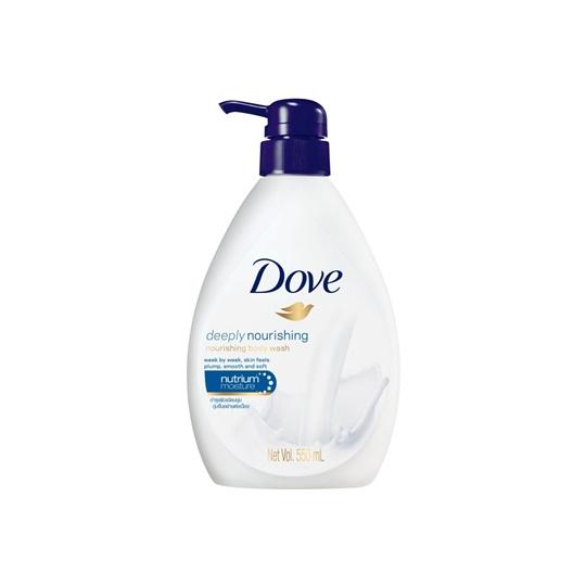 DOVE PUMP NOURISHING BODY WASH 550 ML
