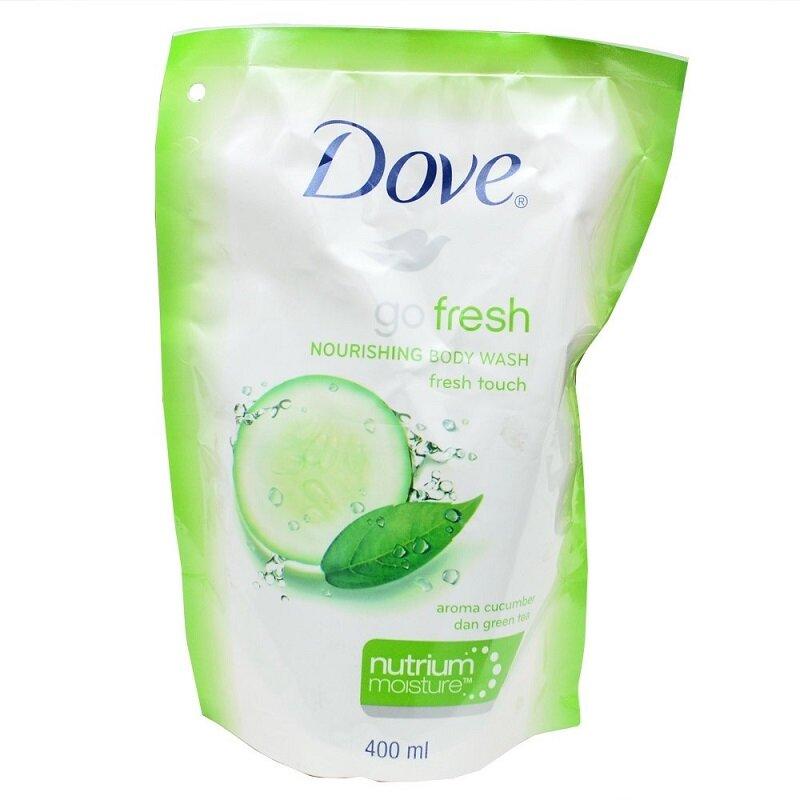 DOVE BODY WASH FRESH TOUCH 400 ML