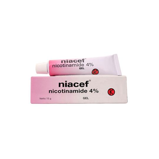 NIACEF 4% GEL 15 G