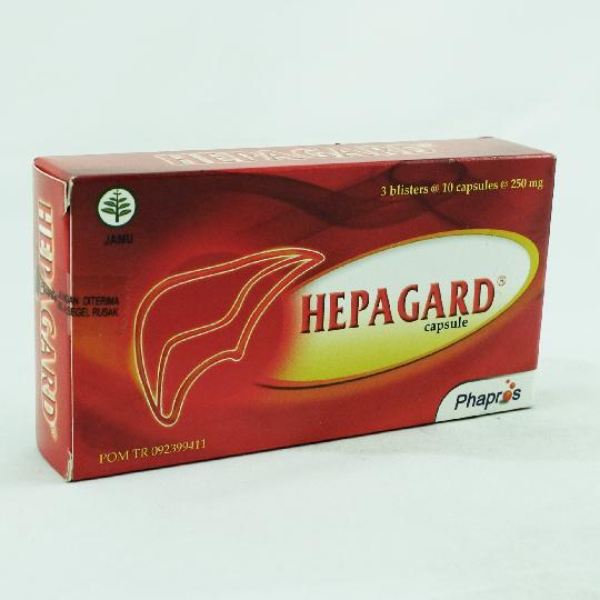 HEPAGARD 30 KAPSUL