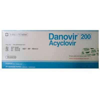 DANOVIR TABLET 200 MG