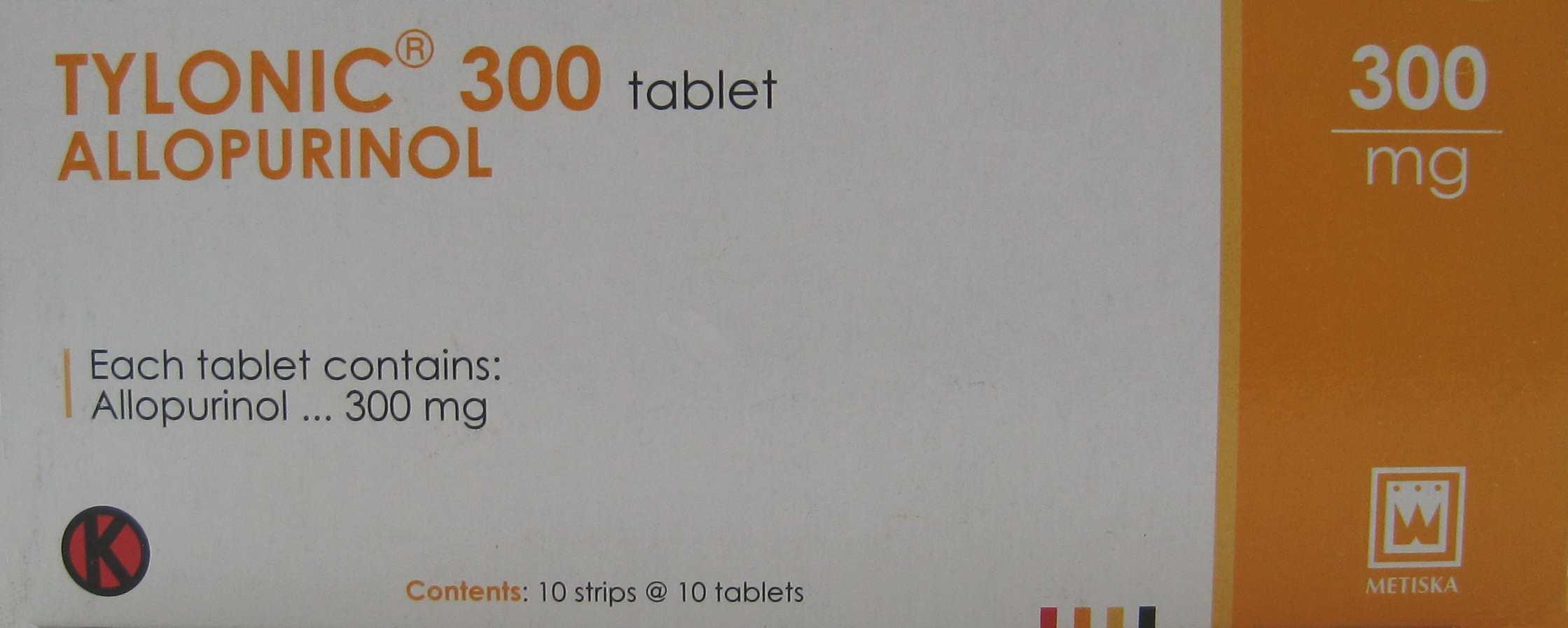 TYLONIC 300 MG 10 TABLET