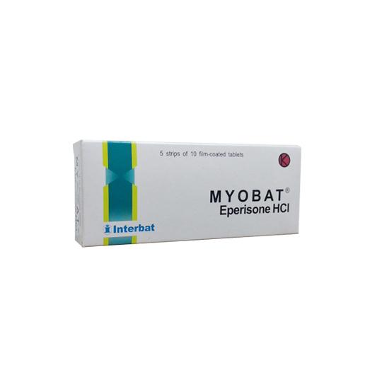 MYOBAT 50 MG 10 TABLET