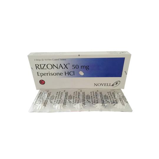 RIZONAX 50 MG 10 TABLET