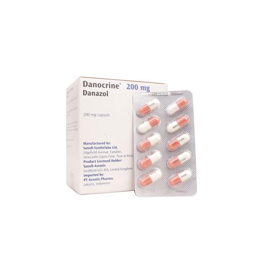 DANOCRINE 200 MG 10 KAPSUL