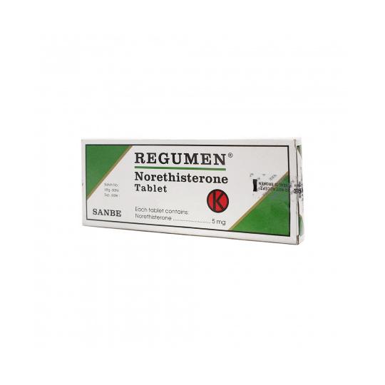 REGUMEN 5 MG 10 TABLET