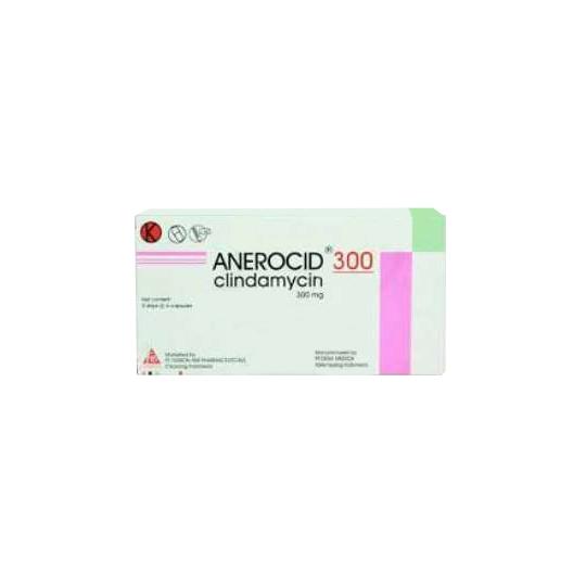 ANEROCID 300 MG 6 KAPSUL