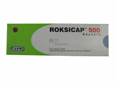 ROKSICAP 500 MG 10 KAPSUL