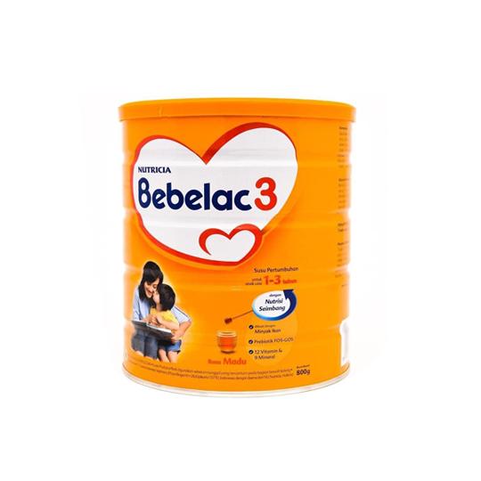 BEBELAC 3 RASA MADU 800 G