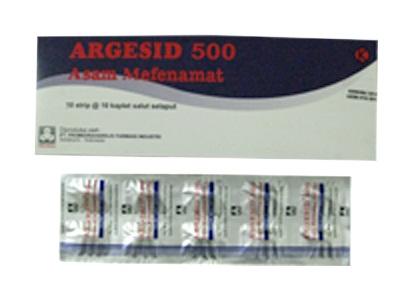 ARGESID 500 MG 10 KAPLET