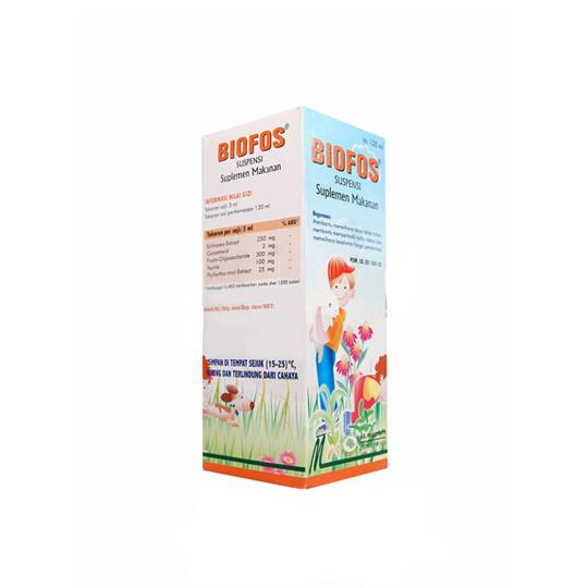 BIOFOS SIRUP 120 ML