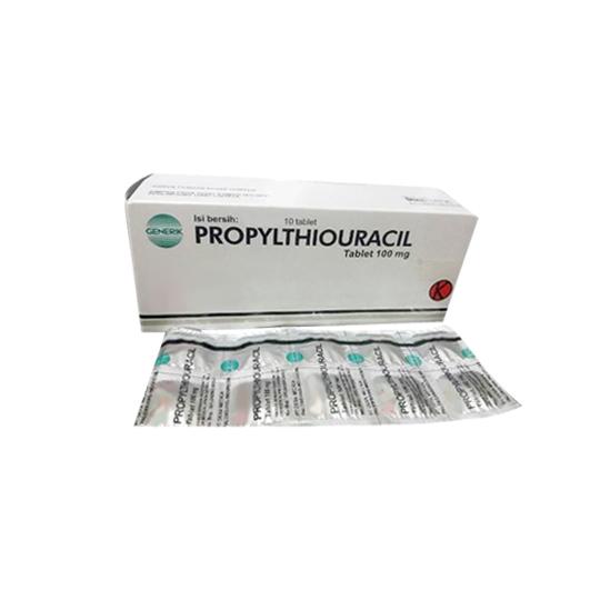 PROPYLTHIOURACIL (PTU) 100 MG 10 TABLET