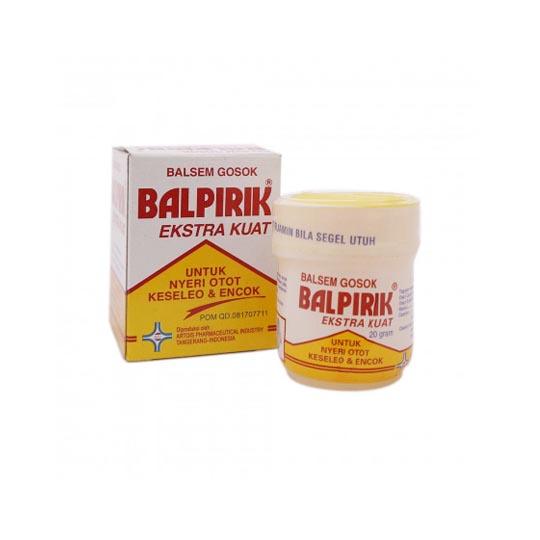 BALPIRIK EXTRA KUAT (KUNING) BALSAM 20 G