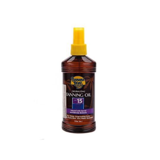 BANANA BOAT PROTECT TANNING SPF 15 OIL 236 ML