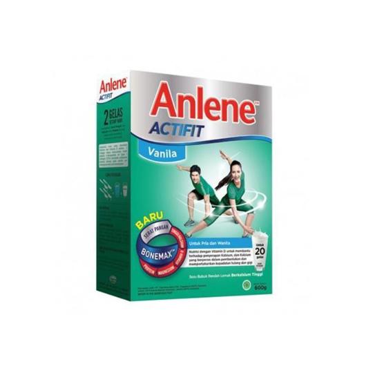 ANLENE ACTIFIT VANILA 600 G