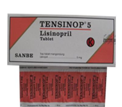 TENSINOP 5 MG 10 TABLET