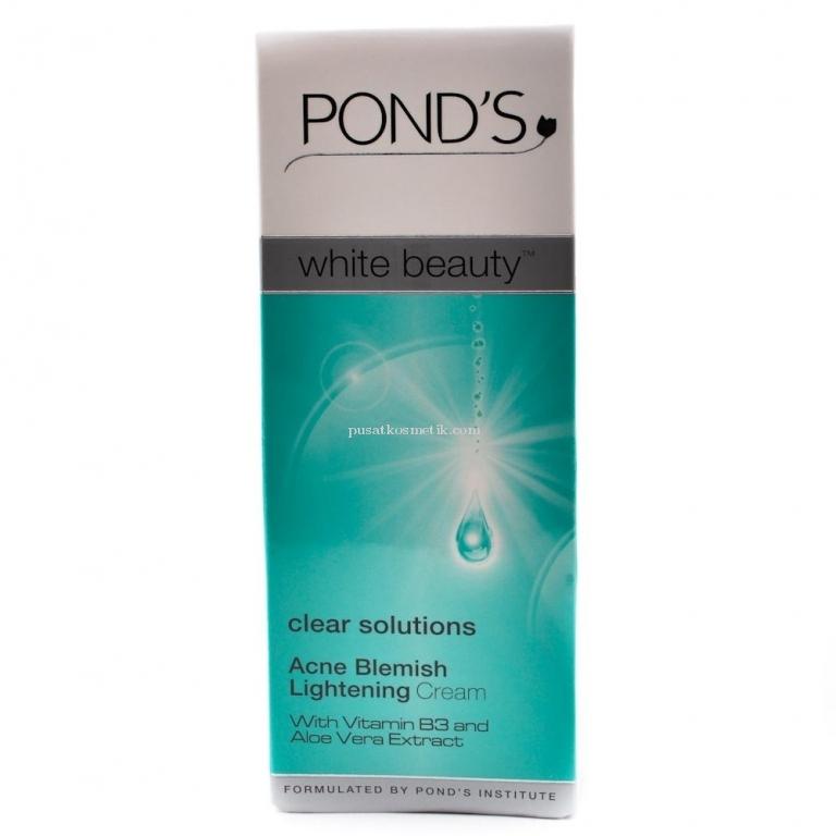 POND'S WHITE BEAUTY CLEAR SOLUT ACNE BLEMISH LIGHT CREAM 20 G