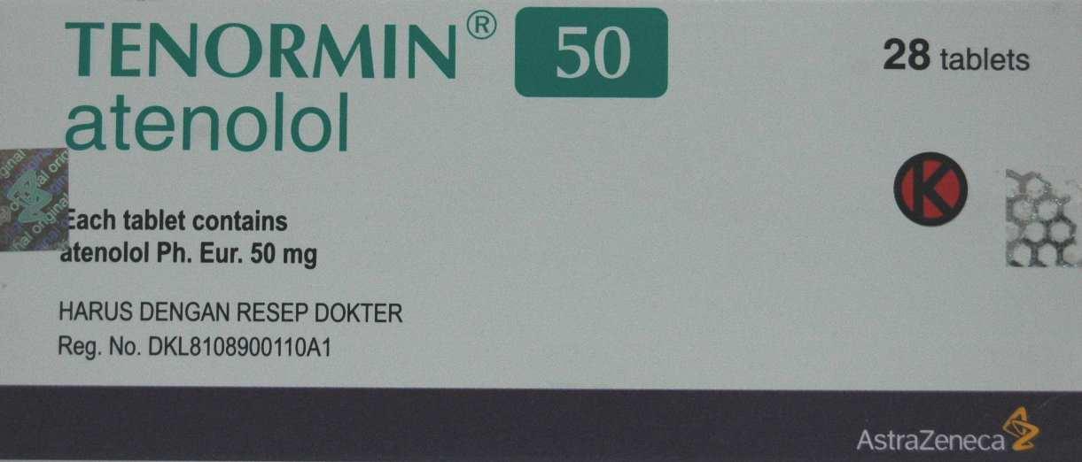 TENORMIN 50 MG 14 TABLET