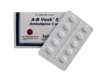 A-B VASK 5 MG 10 TABLET