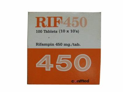 RIF 450 MG 10 KAPLET