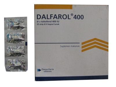 DALFAROL 400 IU 4 KAPSUL