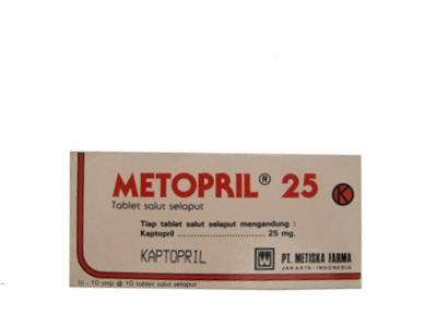 METOPRIL TABLET 25 MG