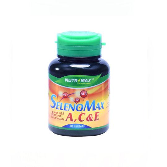 NUTRIMAX SELENOMAX A,C & E 30 TABLET