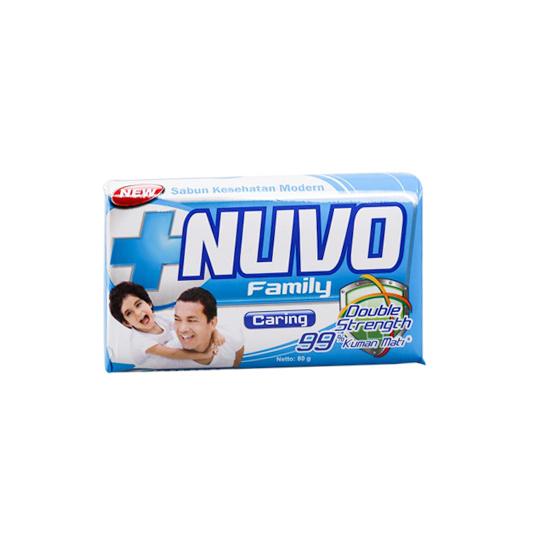 NUVO FAMILY CARING SABUN BAR 80 G