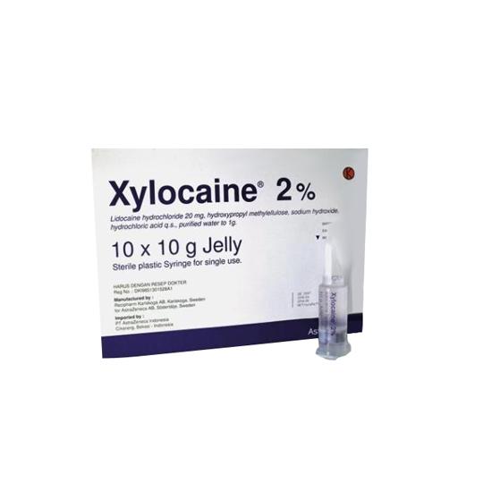 XYLOCAINE 2% GEL 10 G