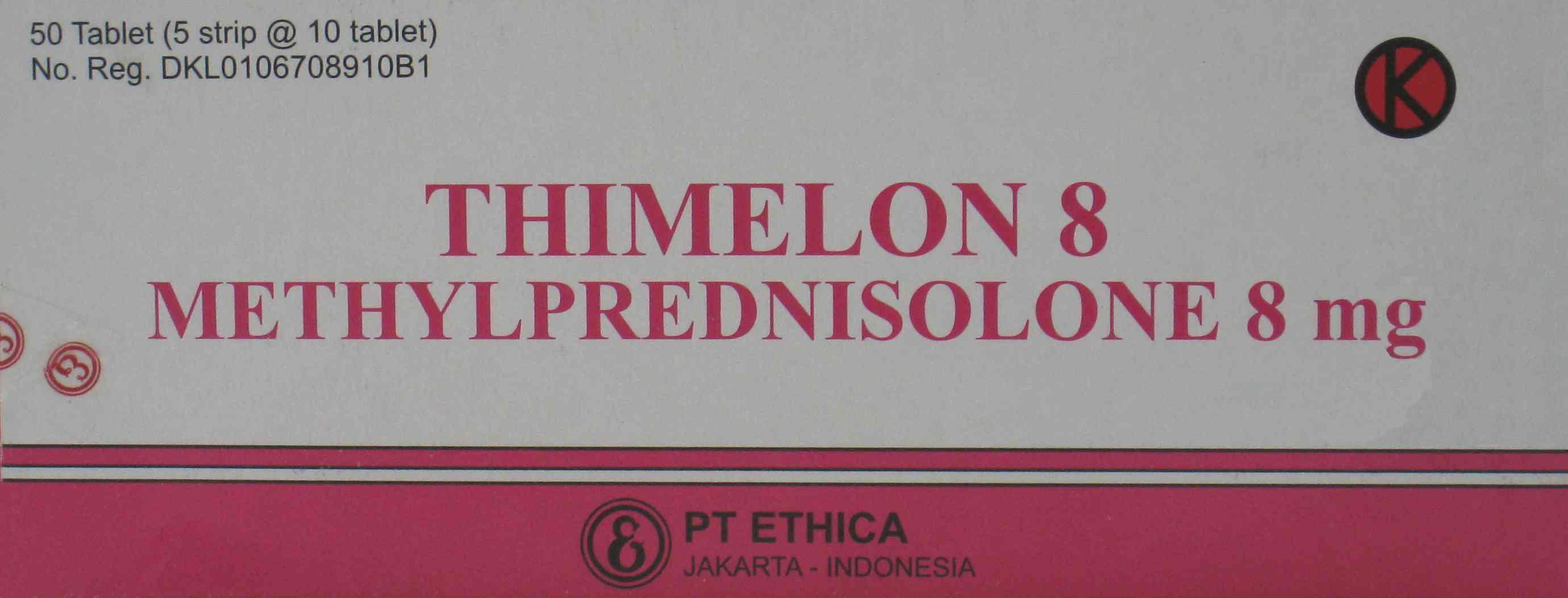 THIMELON 8 MG 10 TABLET