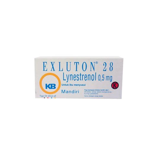 EXLUTON 0.5 MG 28 TABLET