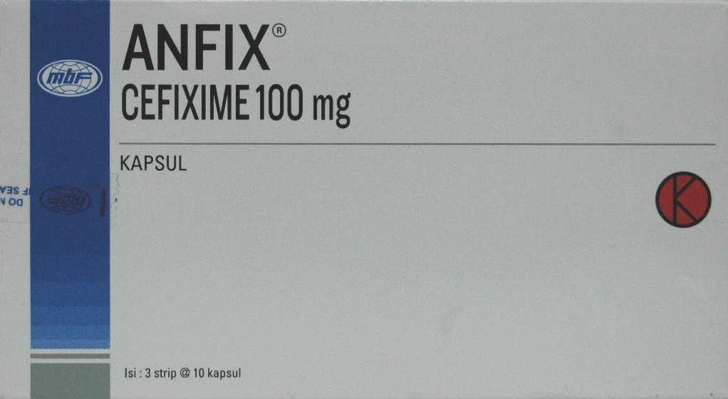 ANFIX 100 MG 10 KAPSUL