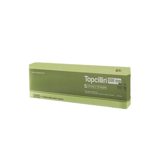 TOPCILLIN 500 MG 10 KAPLET