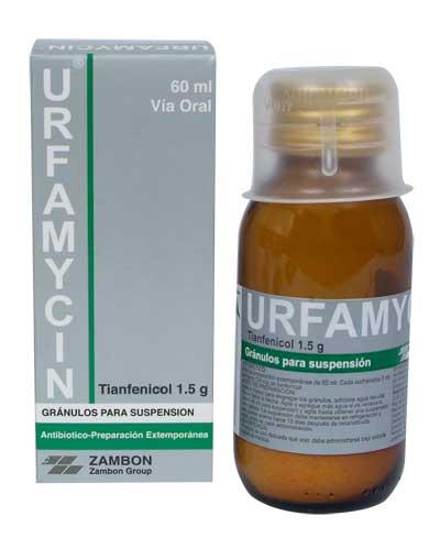 URFAMYCIN SIRUP 60 ML