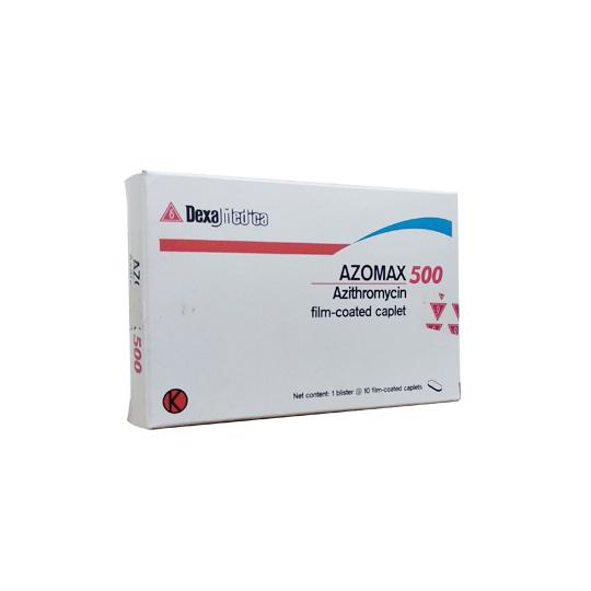 AZOMAX 500 MG 10 KAPLET