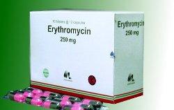 ERYTHROCIN 250 MG 100 KAPSUL