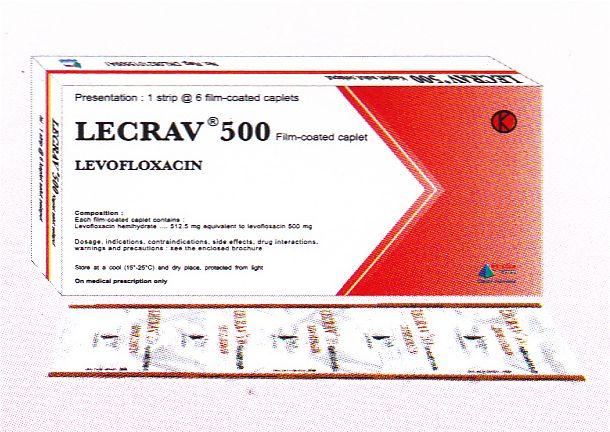 LECRAV KAPLET 500 MG