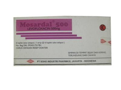Mosardal Kaplet 500 mg